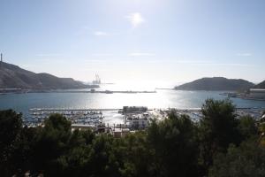 Vistas al puerto desde el Castillo