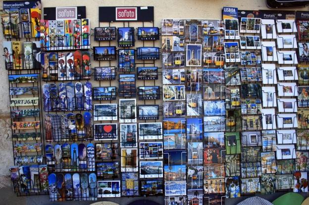 Tienda de Postales. Foto de Raquel López