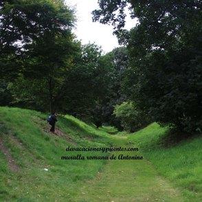 muralla romana de Antonino