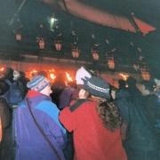 La procesión de antorchas del 29 de diciembre