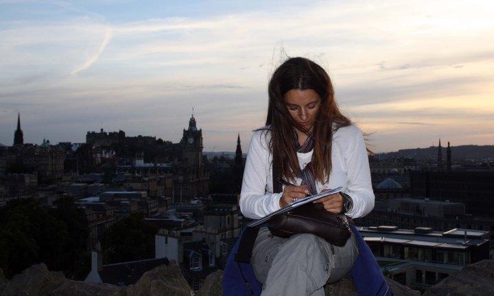 Atardecer especial en Edimburgo