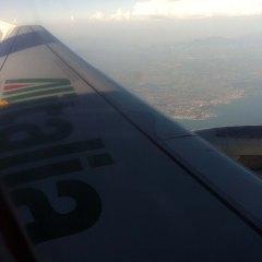 Llegando a Nápoles