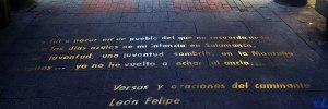 Letras de la calle Huertas