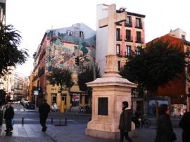 Puerta Cerrada, junto a la plaza Mayor