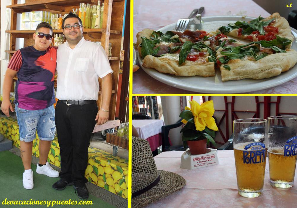La mejor pizza, en Pompeya