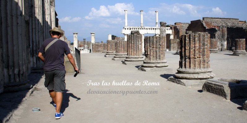 Para ver Pompeya, como toda Italia, siempre faltan días