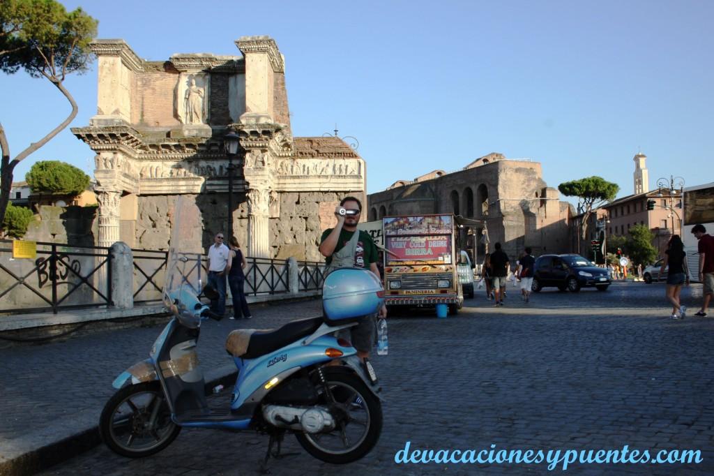 Por Roma... foro Trajano