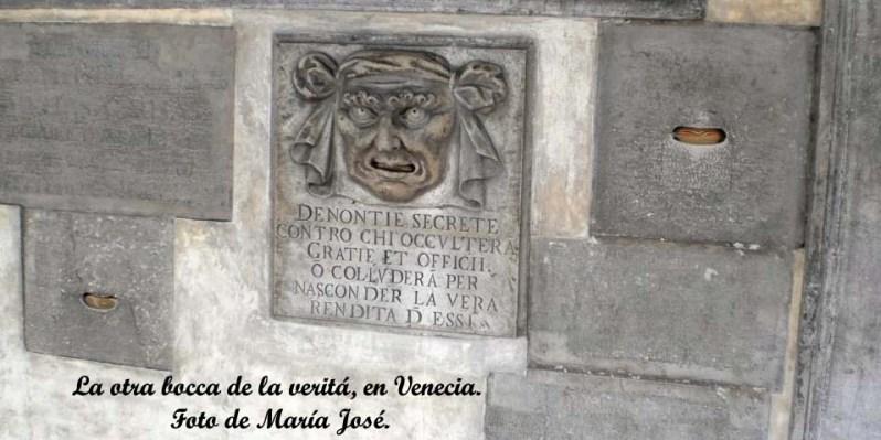 boca de la veritá de Venecia