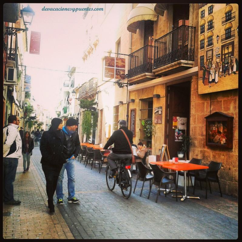 calle Loreto, restaurante la llauradora
