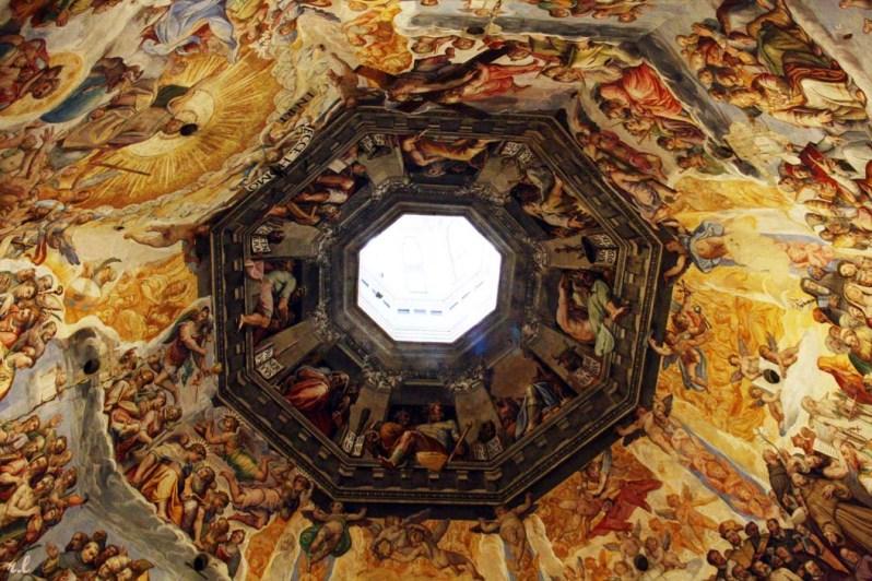 Frescos Cúpula basílica de Santa Maria del Fiore