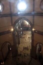 Desde lo alto de la cúpula de la catedral de Florencia