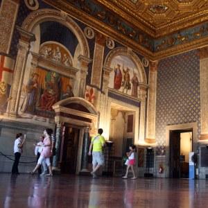 Interior del Palazzo Vecchio