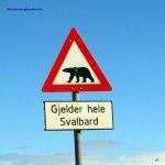 señal en Svalbard