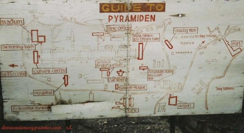 mapa de piramiden