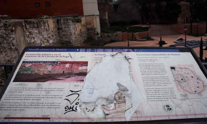 Murallas del viejo Madrid