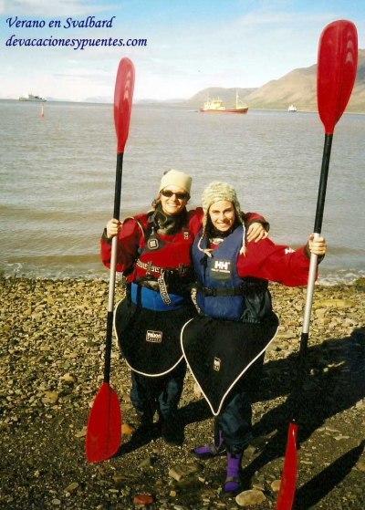 Recuerdos de un día de verano en Svalbard