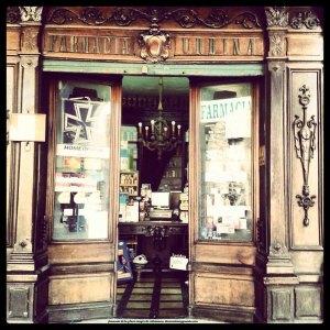 Antigua farmacia de Salamanca
