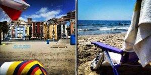 villajoyosa pueblo de pescadores cerca de Alicante