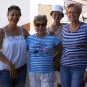 Con las alumnas de Doña Josefa