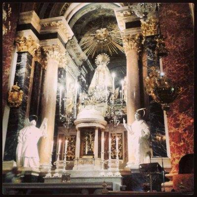 Basílica de los Desamparados. Valencia