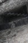 Interior de la chimena del castillo