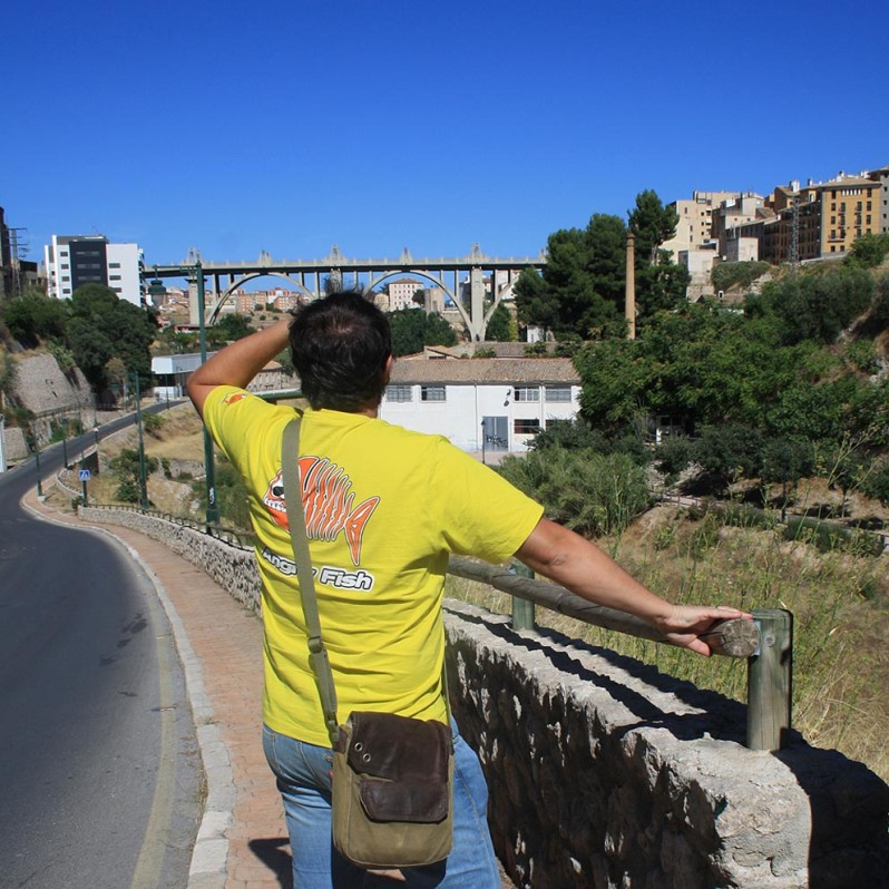 Vistas desde el centro de interpretación del puente de San Jorge