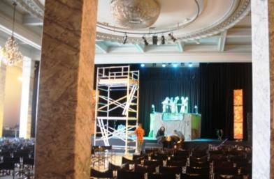 Sala Columnas Circulo Bellas Artes donde Dulce Chacón presentó su primer libro
