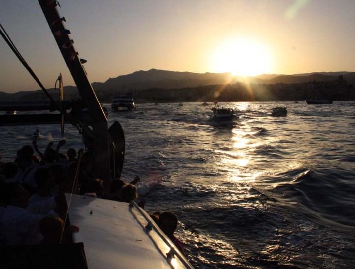 procesión marinera virgen del carmen