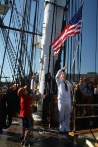 El barco de guerra más antiguo de América, el USS Constitution