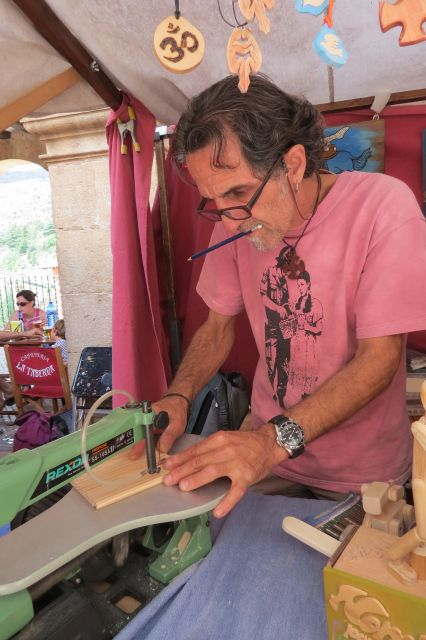artesano trabajando