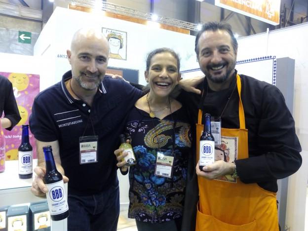 El empresario creador de la cerveza con los chefs de Casa Elordi