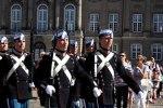 Cambio de Guardia Palacio Real Danés.