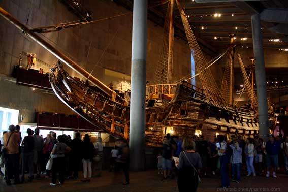 El Vasa, nada más entrar
