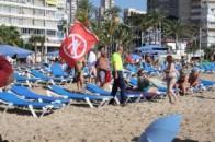 Alerta tsunami playa Levante
