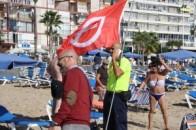 Alerta tsunami playa Levanta