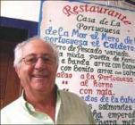Juan Orquin en la foto que le hice cuando le entrevisté para El Mirador