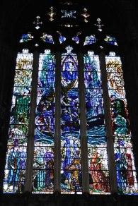 Vidriera de la abadía