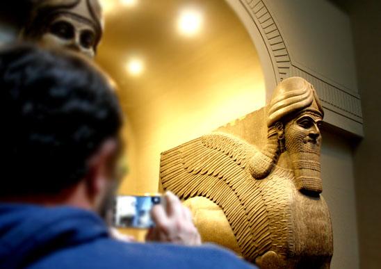 british museum Arte asirio en el Museo Británico