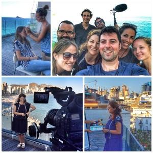 El día en que el equipo de Nakamura nos llamó a la periodista Macu Esteve y a mi para documentar la película.