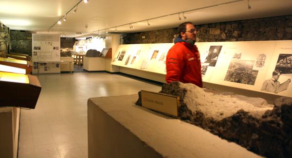 Exposición sobre la historia de los periódicos e imprentas de Fleet Street en Londres