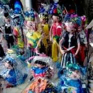 Muñecos artesanos customizados