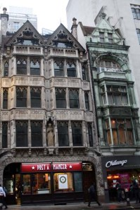 Lugar donde estaba el mítico pub King & Keys, pegado a la entrada del Daily Telegraph.